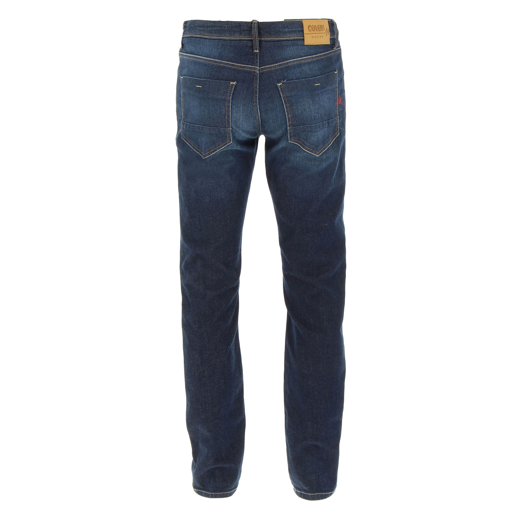 Immagine di COVERI MOVING - JEANS 5 TASCHE SABBIATO MEDIO BLU