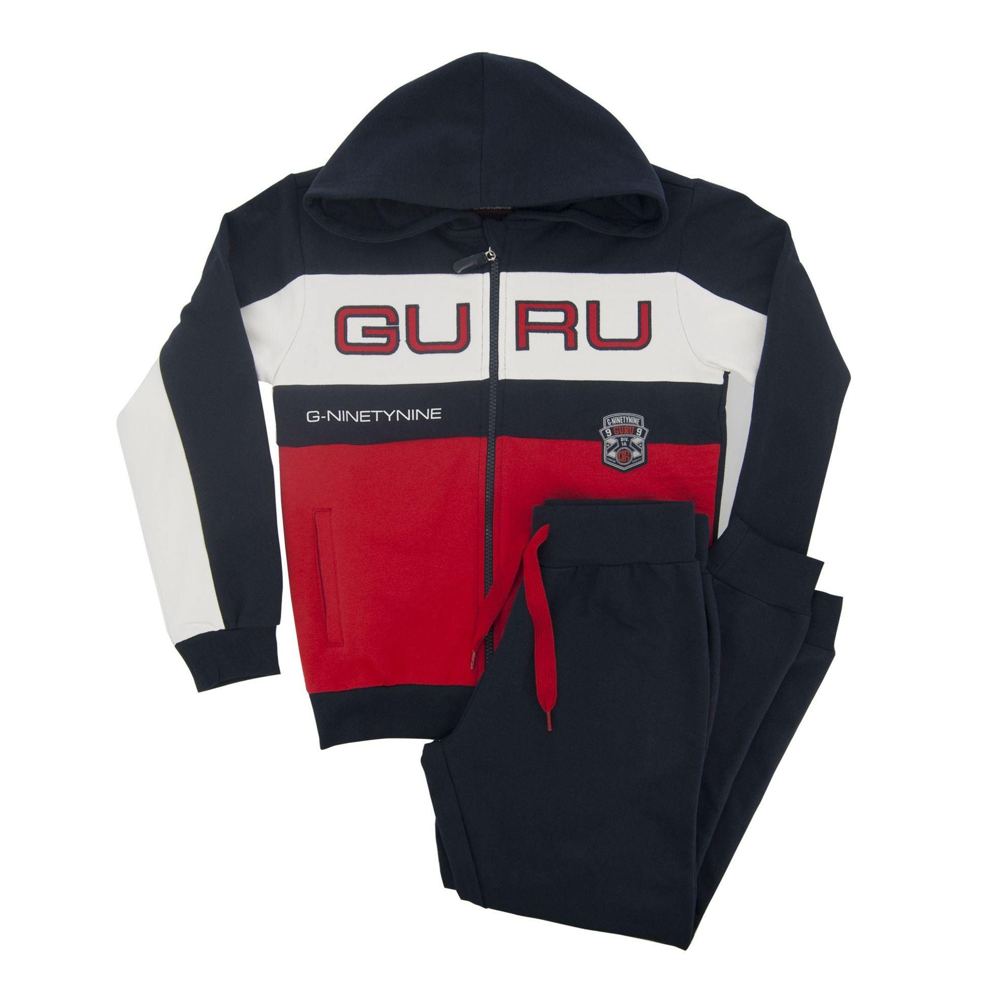 Immagine di GURU 99 - BOY TUTA FULL ZIP CAPPUCCIO