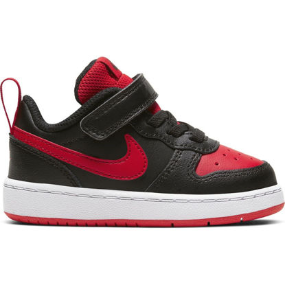 Immagine di NIKE - SCARPA COURT BOROUGH LOW 2 TD 4-10 BK-RE