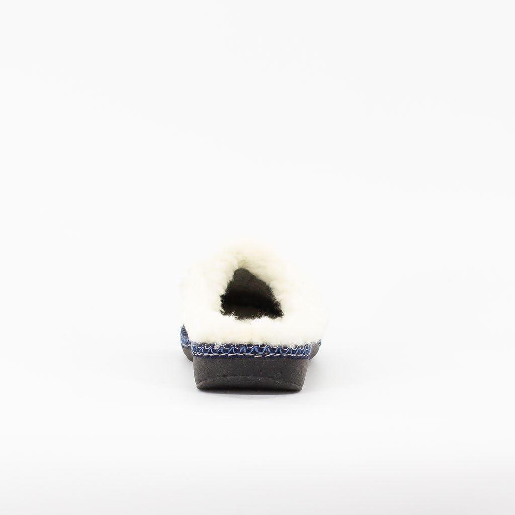 Immagine di SOFTY- Pantofole con cuoricino glitter e pelliccia interna, MADE IN ITALY