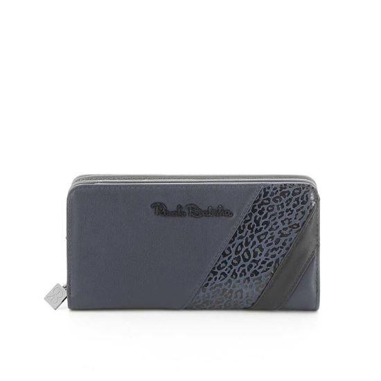 Immagine di RENATO BALESTRA- Portafogli con scomparto porta carte di credito e inserto maculato