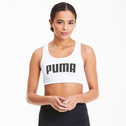 Immagine di PUMA - TOP 4KEEPS BRA M WHITE-BLACK