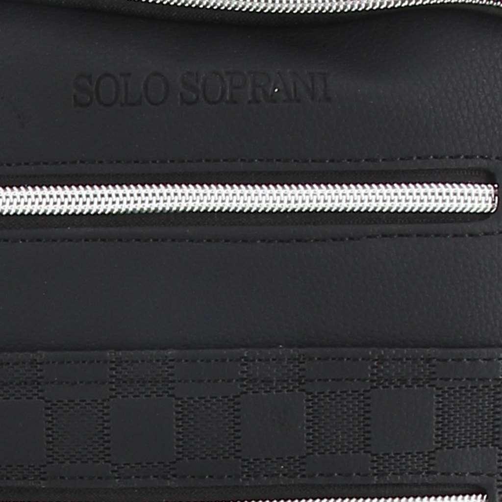 Immagine di SOLO SOPRANI- Borsello con due tasche frontali e una tasca posteriore