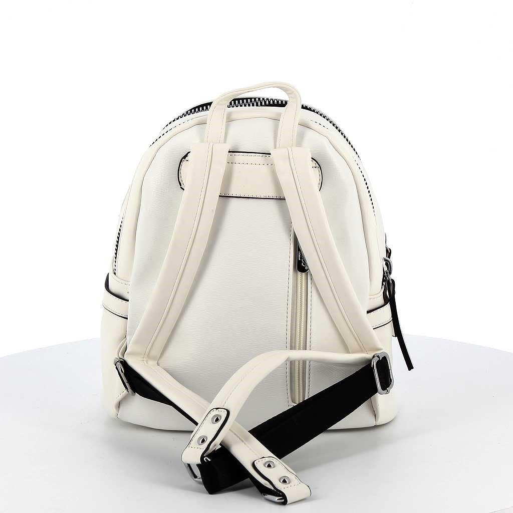 Immagine di ENRICO COLLEZIONE- Zaino con doppia maxi zip e tasca frontale