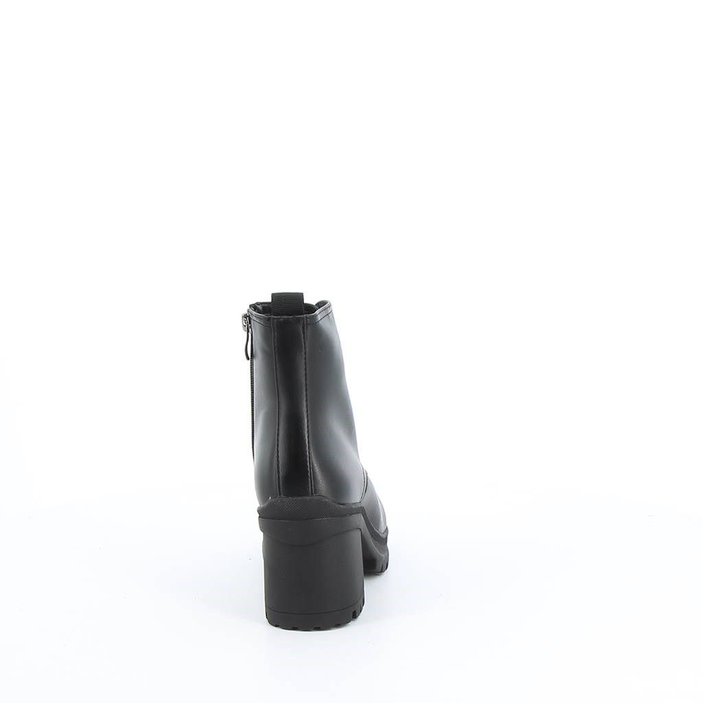 Immagine di MISS GLOBO- Stivaletto con lacci e zip laterale, tacco 8,5CM