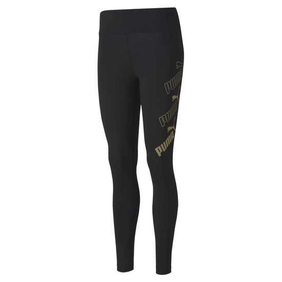Immagine di LEGGINGS AMPLIFIED BLACK-GOLD