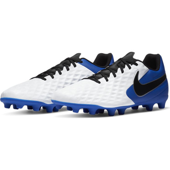 Immagine di NIKE - SCARPA LEGEND 8 CLUB FG/MG WHT-BLK-ROYAL