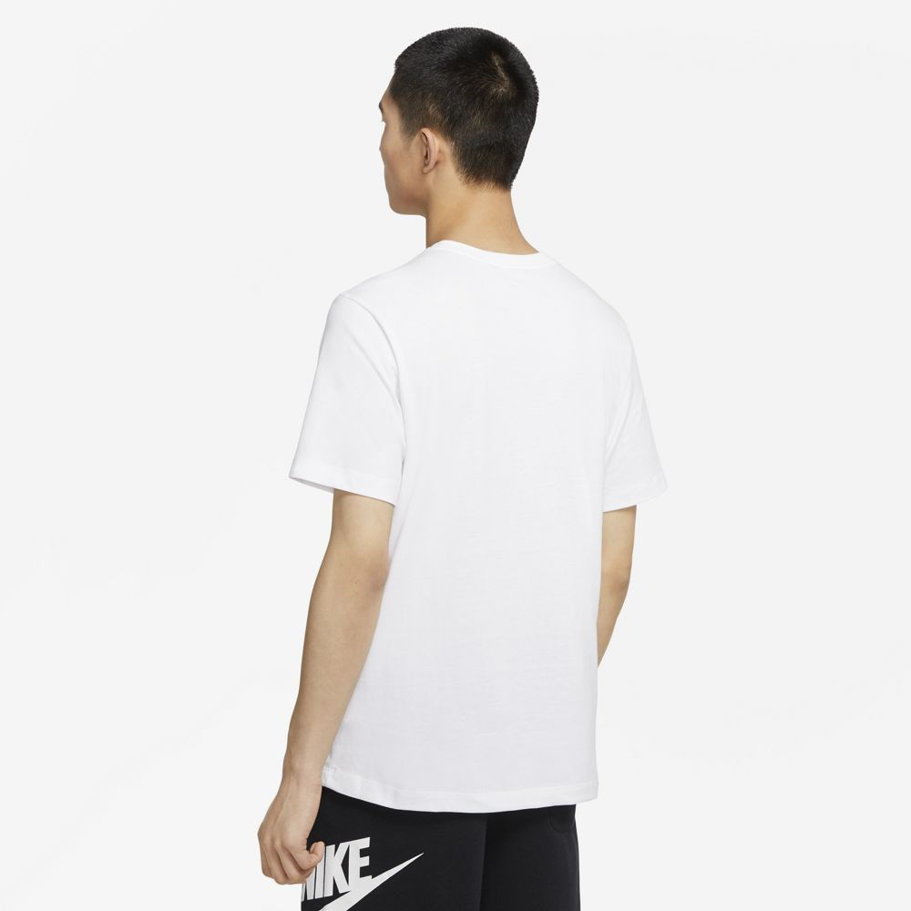 Immagine di NIKE - T-SHIRT MM NSW TEE JDI SWOOSH WHT-ROYAL