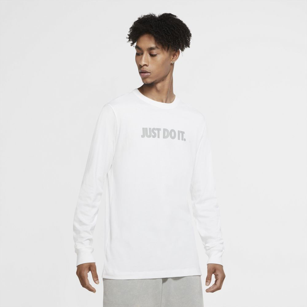 Immagine di NIKE - T-SHIRT ML NSW TEE JDI CUT OUT LBR WHT