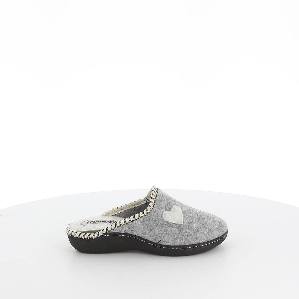 Immagine di EMANUELA- Pantofole con cuore, MADE IN ITALY