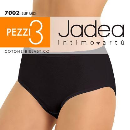 Immagine di JADEA - SLIP MIDI COTONE BIELASTICO 3 PEZZI