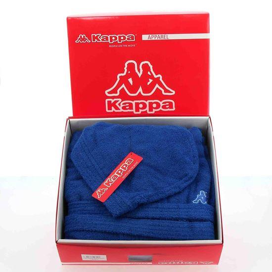Immagine di KAPPA- Accappatoio in spugna 100% cotone con cappuccio