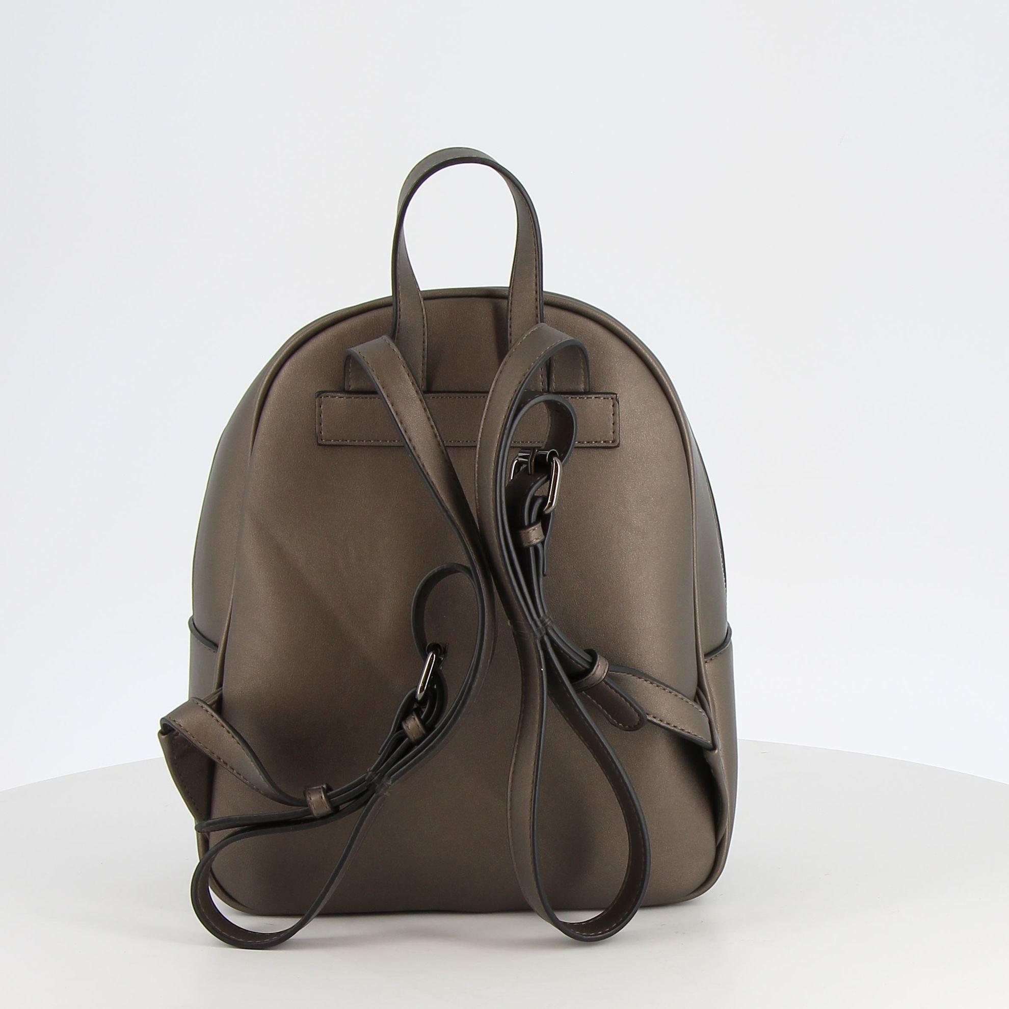 Immagine di ENRICO COLLEZIONE- Zaino con tasca frontale e fascia verticale in cocco
