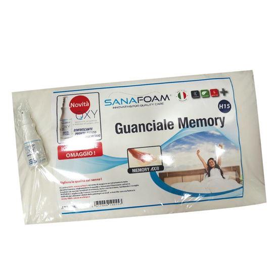 Immagine di GUANCIALE MEMORY H15 C/IGIENIZZANTE
