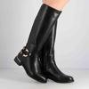 Immagine di BACHATA - Stivale con cinturino e doppia fibbia alla caviglia, tacco 3,5CM