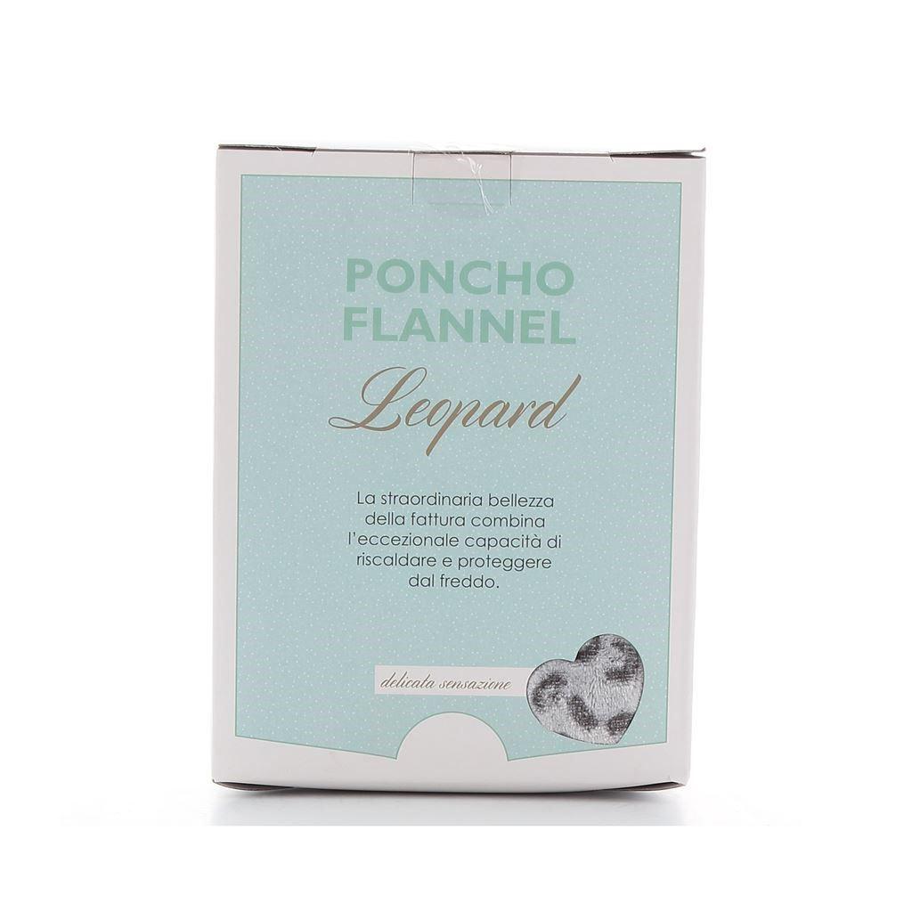 Immagine di FZ- Poncho Flannel modello  LEOPARD