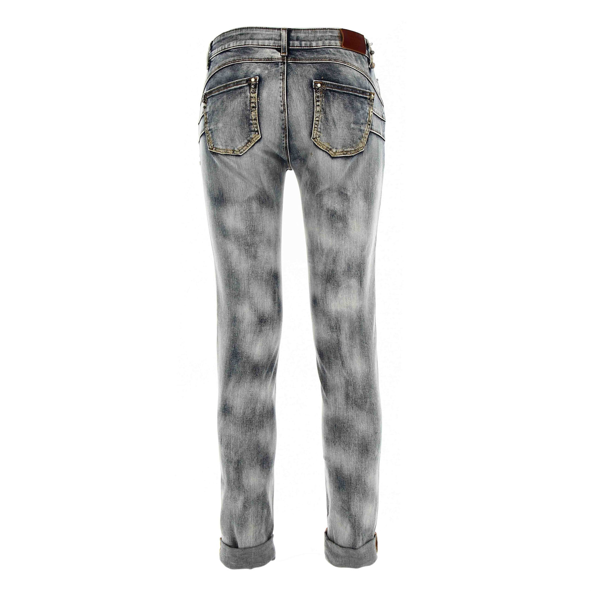 Immagine di JEANS JTINA7 S/UP SKINNY GLITTER DENIM