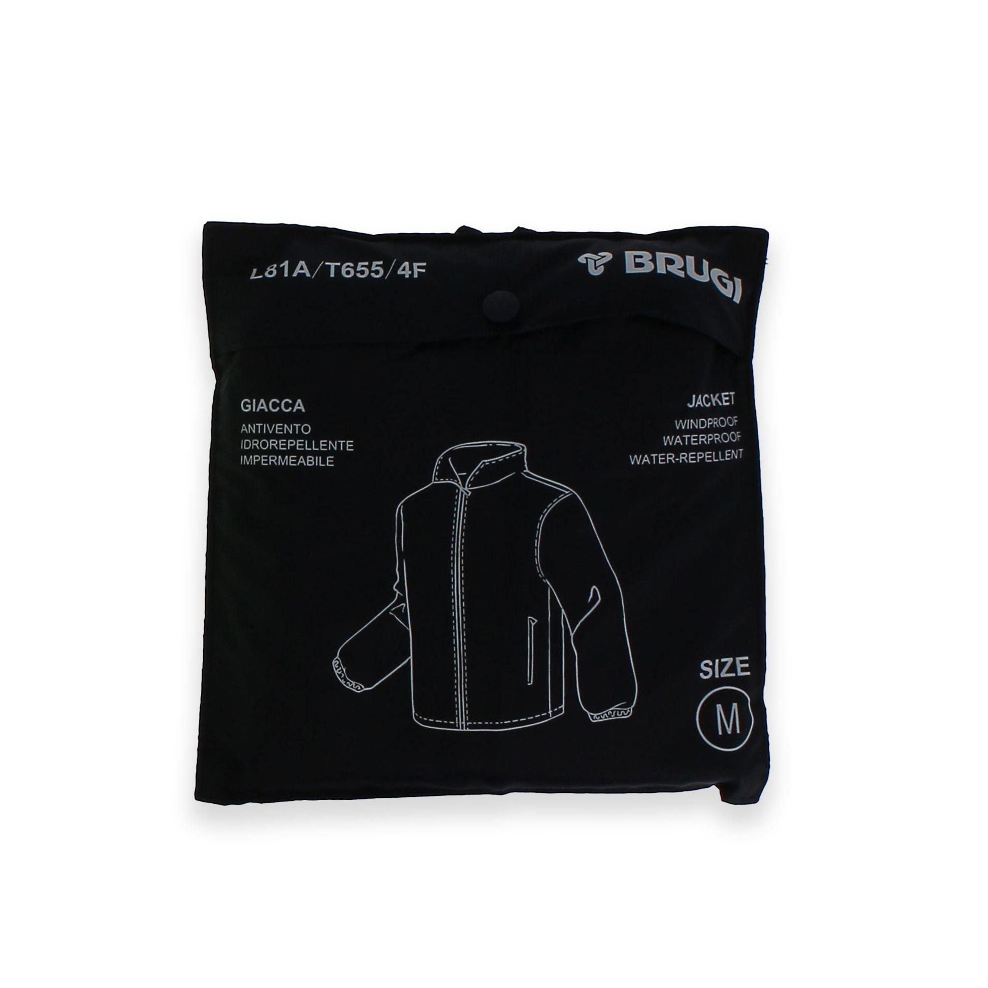 Immagine di BRUGI - Giacca  idrorepellente, antivento e impermeabile, ripiegabile in tasca
