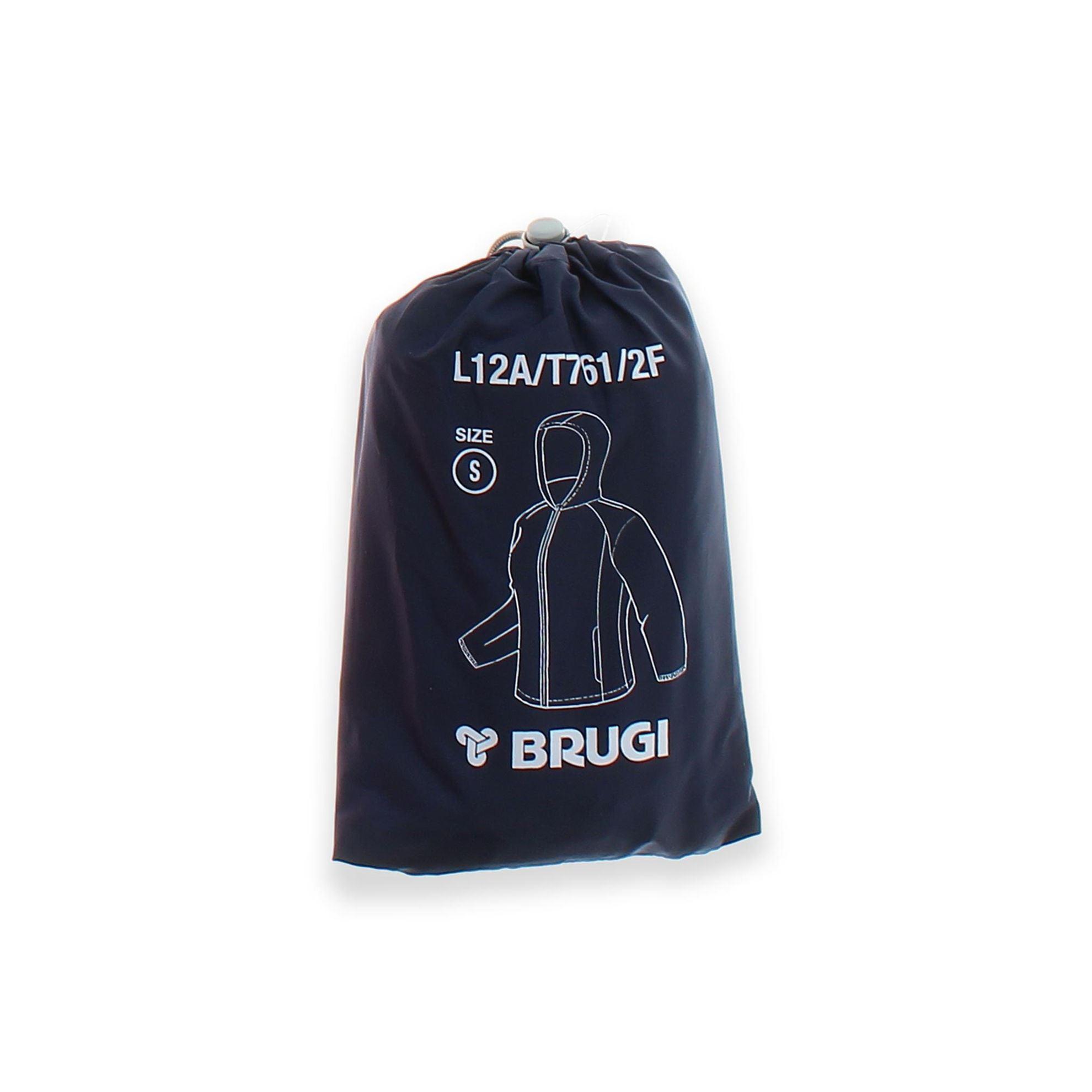 Immagine di BRUGI - K-Way sfoderato idrorepellente e antivento, ripiegabile in tasca