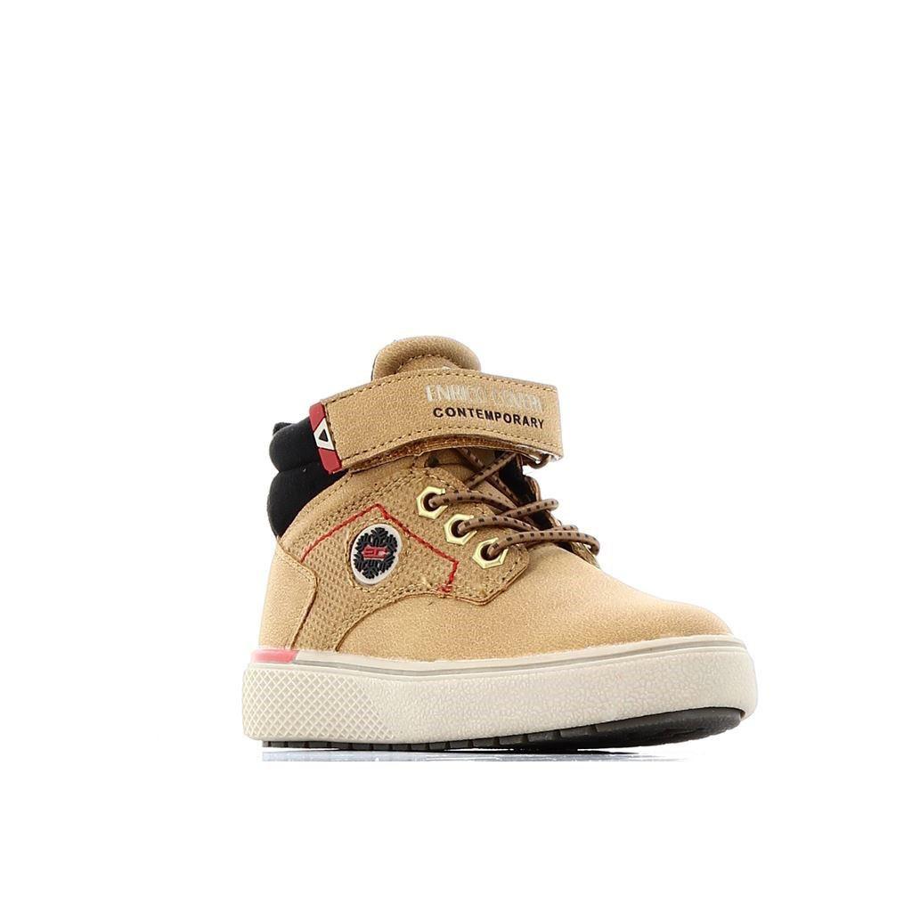 Immagine di ENRICO COVERI - Scarponcino con strappo alla caviglia e lacci elastici, tacco 2CM