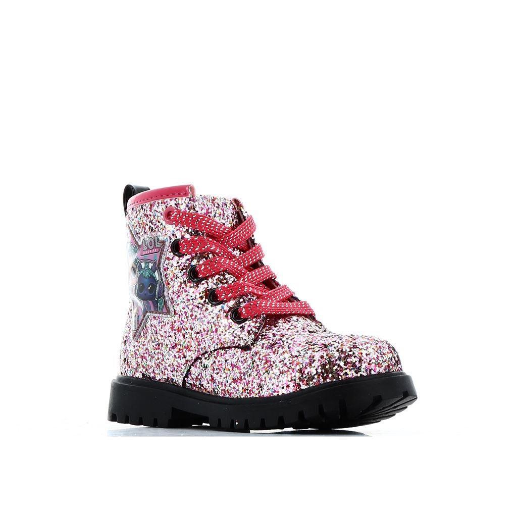 Immagine di LOL SURPRISE! -Anfibio glitterato con dettaglio sulla caviglia e lacci glitterati, tacco 2CM