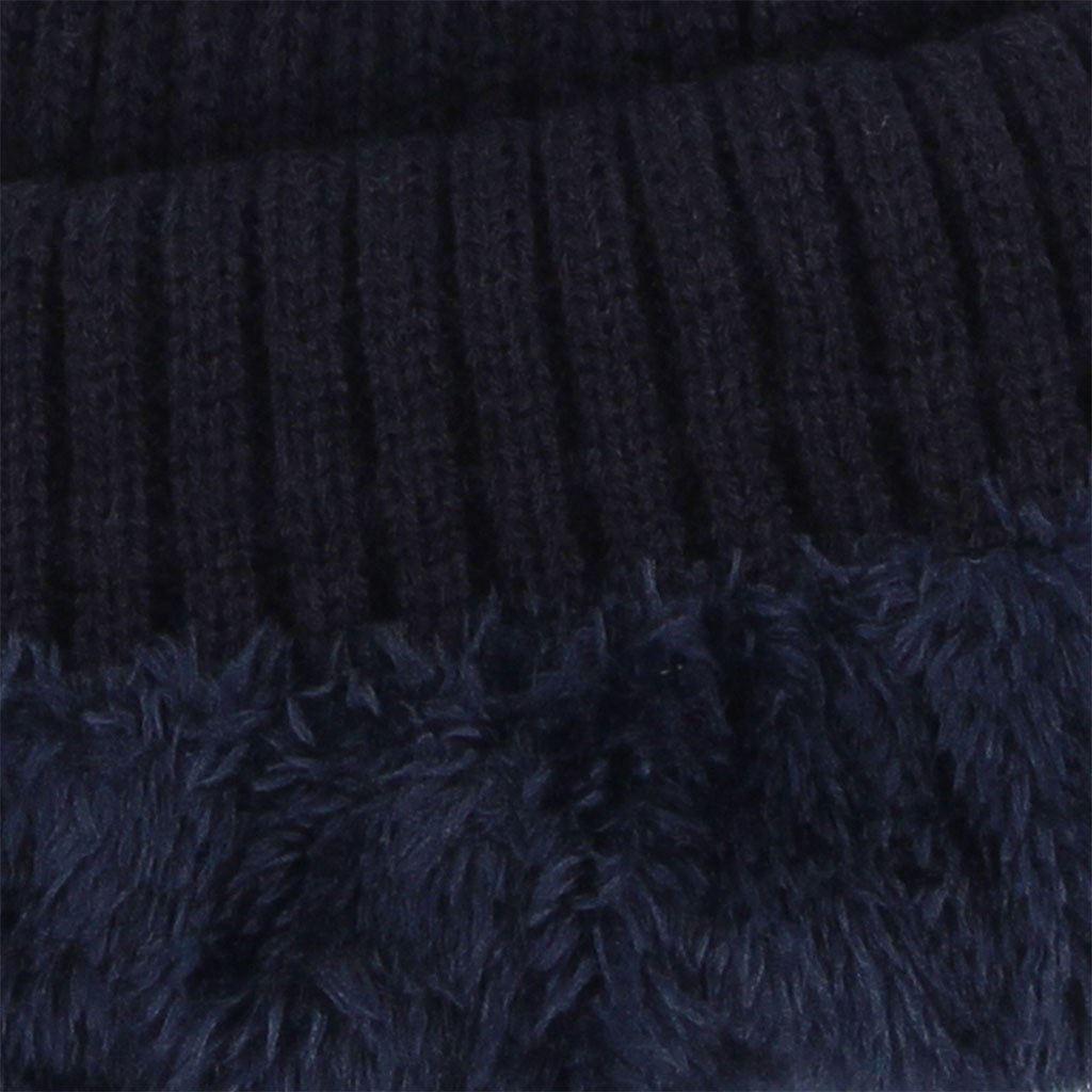 Immagine di WAMPUM - Cuffia con risvolto e interno rifinito in pelliccia
