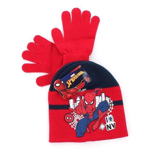 Immagine di SPIDERMAN - Completo cappello e guanti