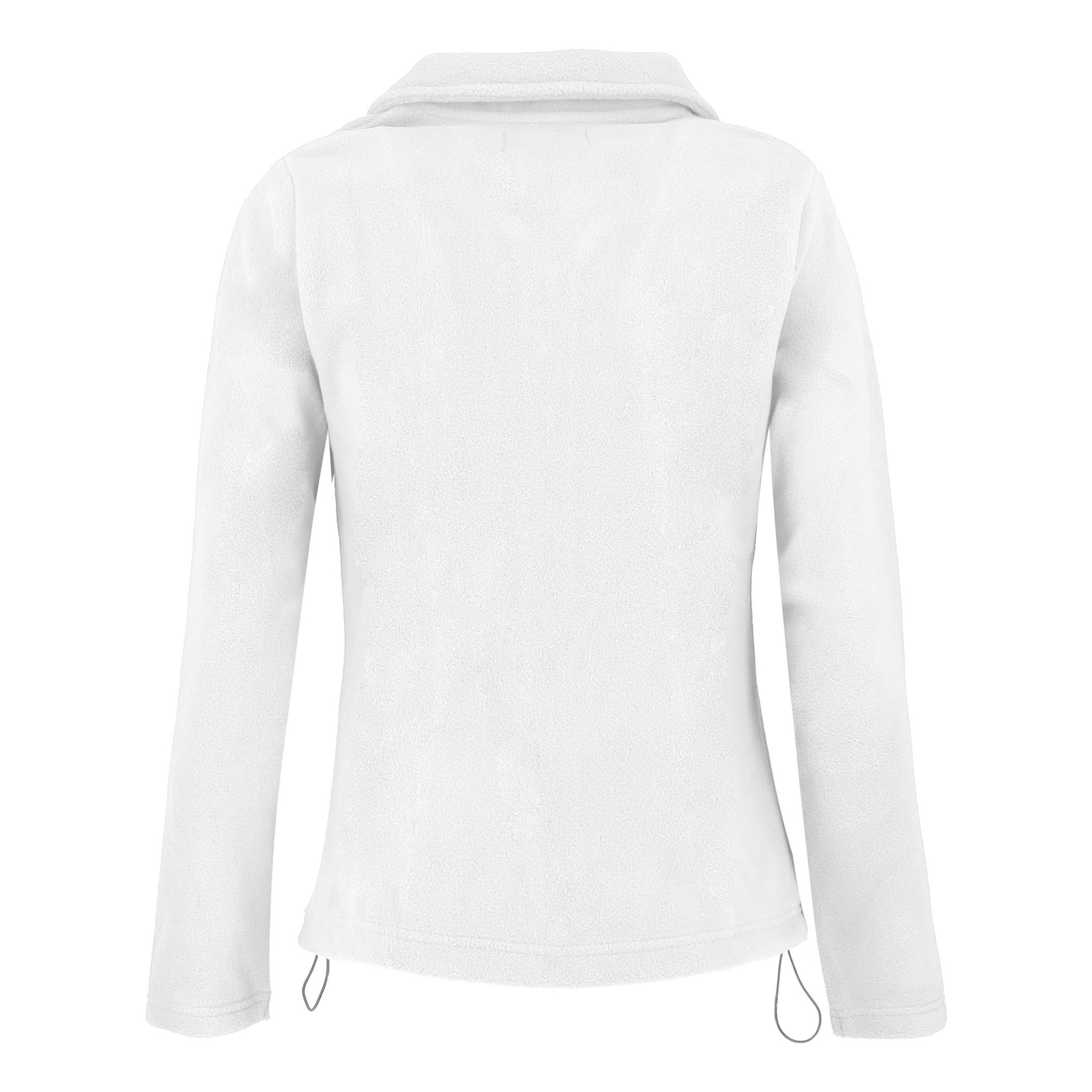 Immagine di BRUGI - PILE FULL ZIP DONNA WHITE
