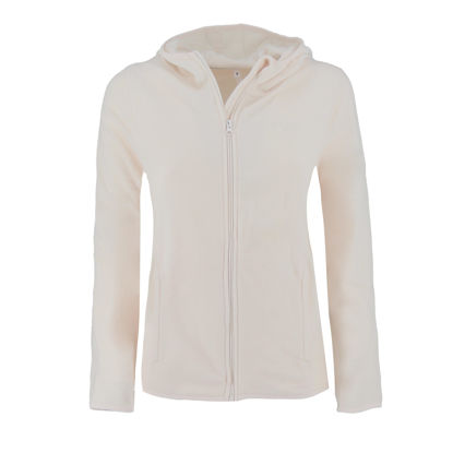 Immagine di ON SPIRIT - PILE CON CAPPUCCIO FULL ZIP DONNA PANNA