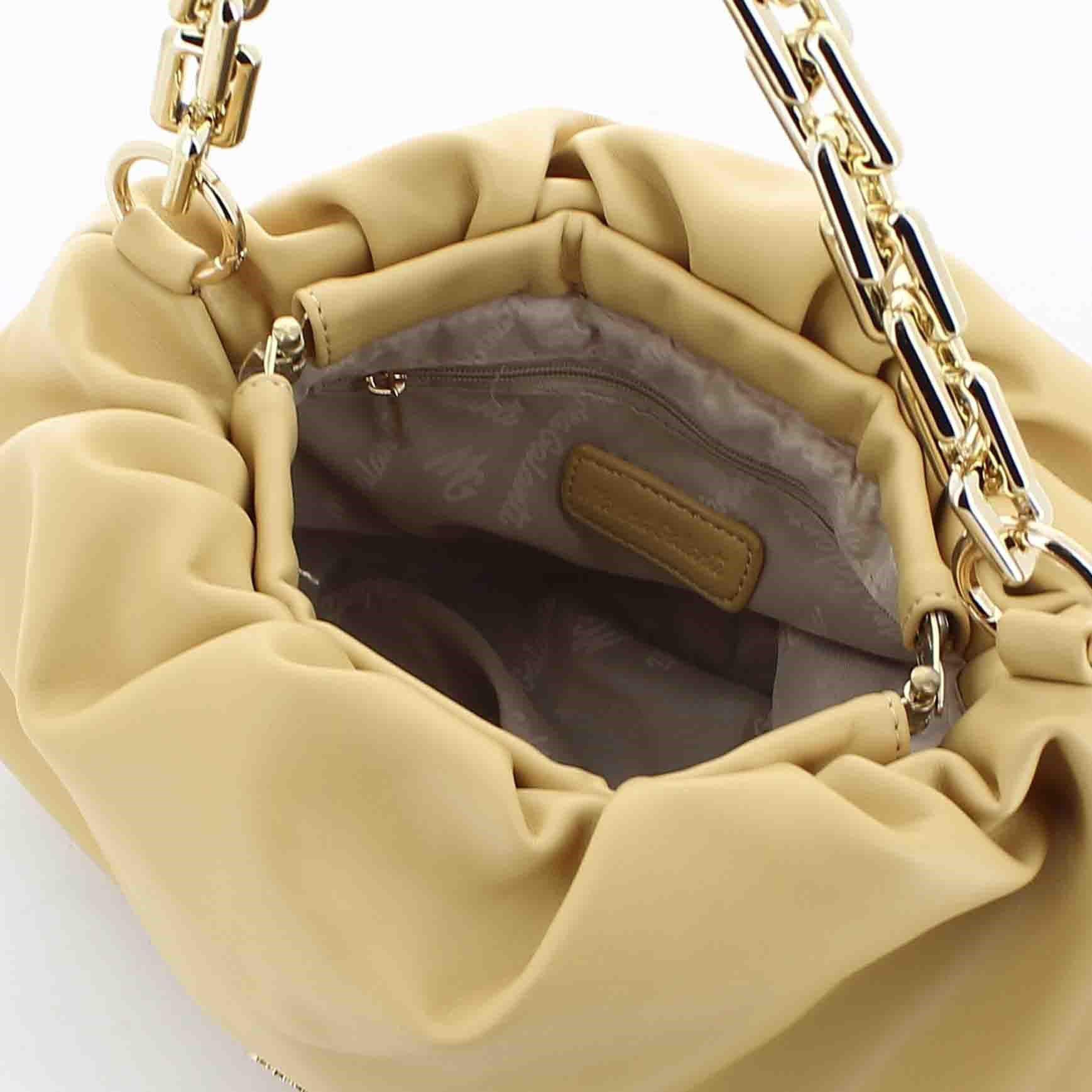 Immagine di MARINA GALANTI - Pouch media portofino, con tracolla removibile, catenina e chiusura a molla