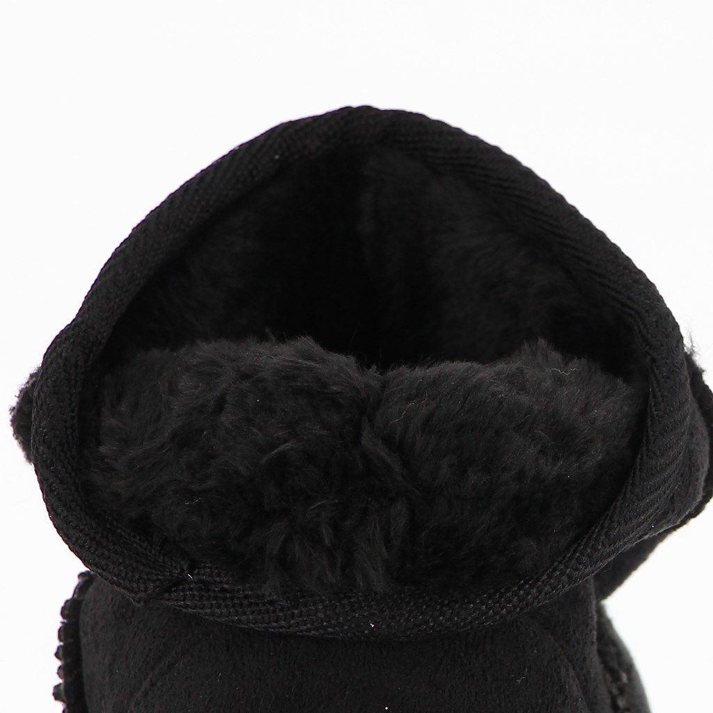 Immagine di GET-UP - Stivaletto con pelliccia interna e punta tonda, tacco 2,5CM