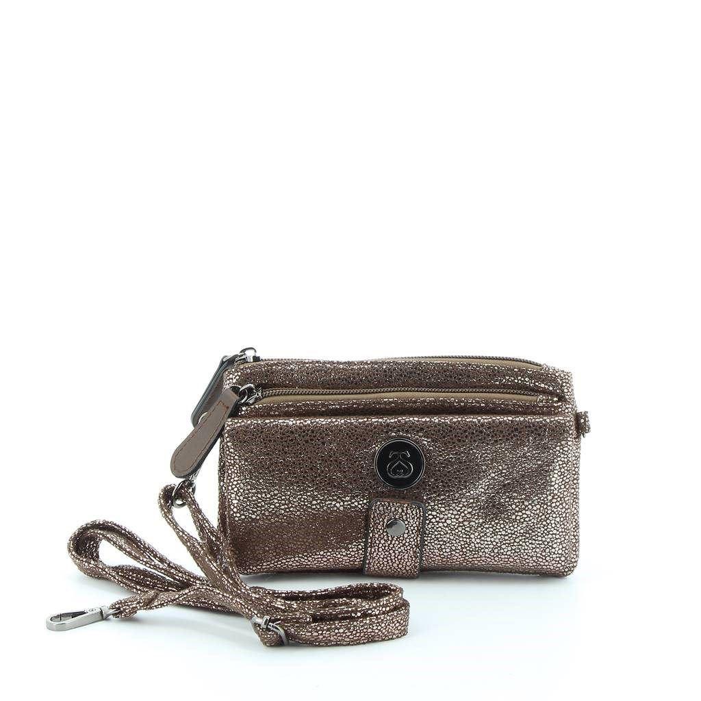 Immagine di SOLO SOPRANI - LINEA TAPIRO Portafoglio utilizzabile anche come pochette con tracolla rimovibile