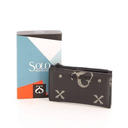 Immagine di SOLO SPRANI - Portafoglio con tasca portaspicci e scomparto porta carte di credito