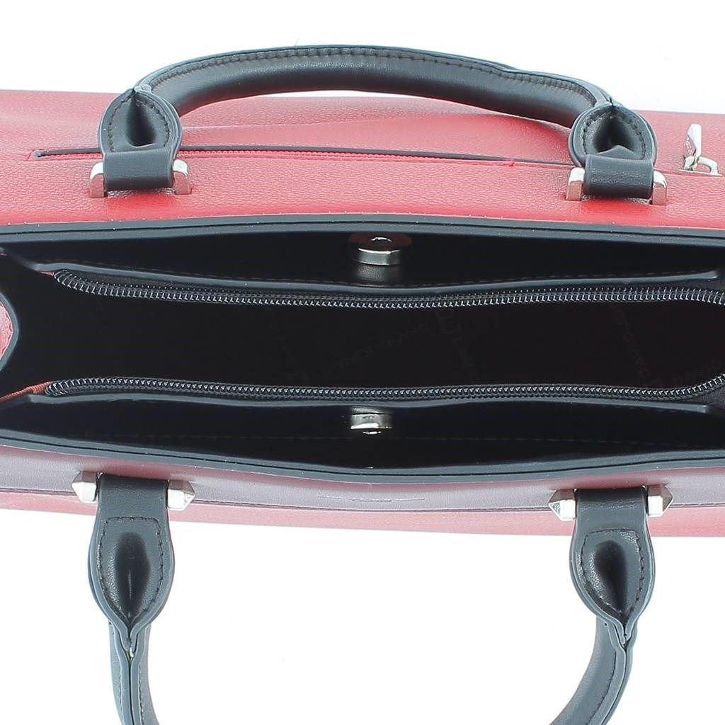 Immagine di DAVID JONES - Borsa due manici con tasca posteriore e tracolla rimovibile