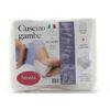 Immagine di COTTON HOUSE - Cuscino gambe in memory foam pratico e versatile, MADE IN ITALY
