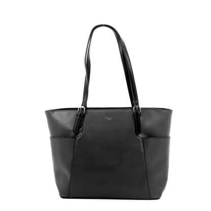 Immagine di DAVID JONES - Borsa shopping con tasche laterali