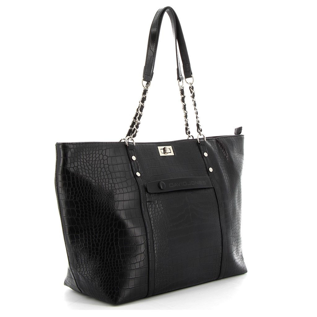 Immagine di DAVID JONES - Borsa shopper in cocco
