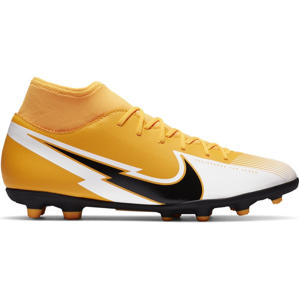 Immagine di NIKE - SCARPA SUPERFLY 7 CLUB FG/MG ORANGE-BLK