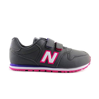 Immagine di NEW BALANCE - SCARPA KIDS LIFESTYLE GREY/PINK SYNTHETIC / TEXTILE