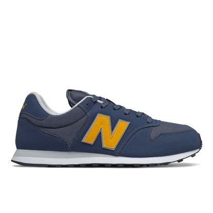 Immagine di NEW BALANCE - SCARPA LIFESTYLE UOMO SYNTHETIC SUEDE/MESH NAVY/YELLOW