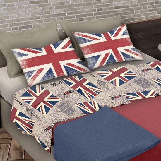 Immagine di MORFEO - LENZUOLA COPPIA FLAGS UK 2 PIAZZE