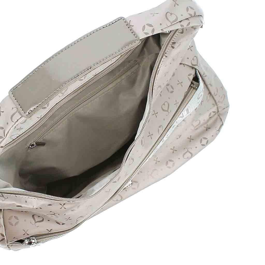 Immagine di SOLO SOPRANI - Borsa sacca con zip orizzontale frontale e tracolla rimovibile