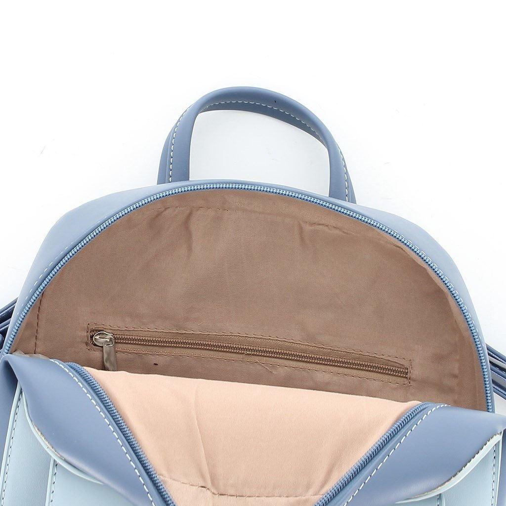 Immagine di ANNES NICOLE - Zaino bicolor con tasca frontale con patta
