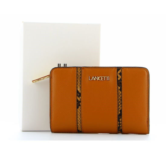 Immagine di LANCETTI - Portafoglio con tasca porta spicci