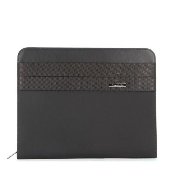"""Immagine di SAMSONITE- Cartella porta bloc-notes A4 con anelli e tasca porta tablet fino a 10.5"""""""