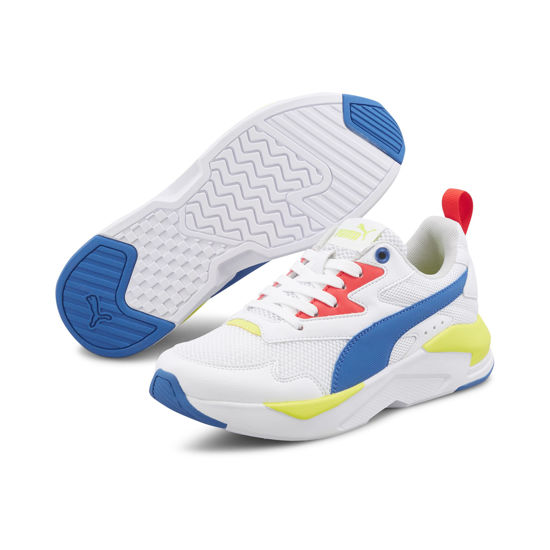 Immagine di PUMA - SCARPA X-RAY LITE GS 3%-6 WHT-ROY-YELLOW