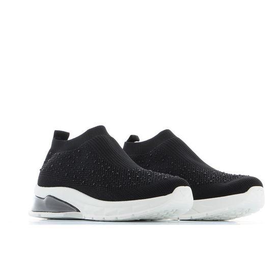 Immagine di ZOE - Sneakers a calzino con strass