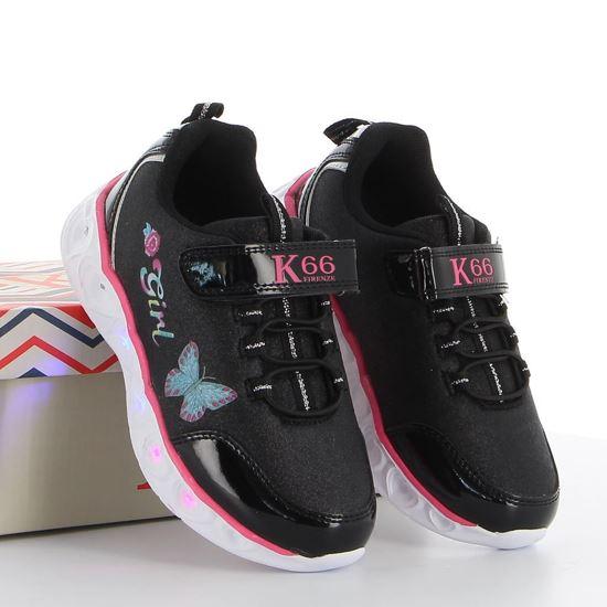 Immagine di K66 FIRENZE - Sneakers bassa con strappo e luci sul fondo