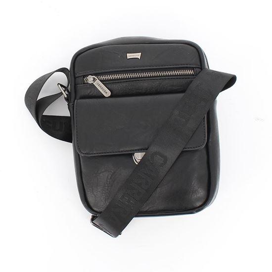 Immagine di CARRERA - Borsello con una tasca zip e una tasca con patta e chiusura a pulsante