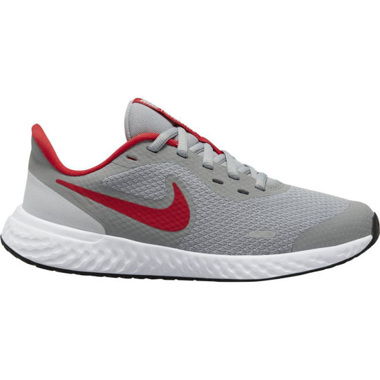 Immagine di NIKE - SCARPA REVOLUTION 5 GS 3%-7 GREY-RED